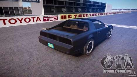 Knight Rider [EPM] para GTA 4 vista superior