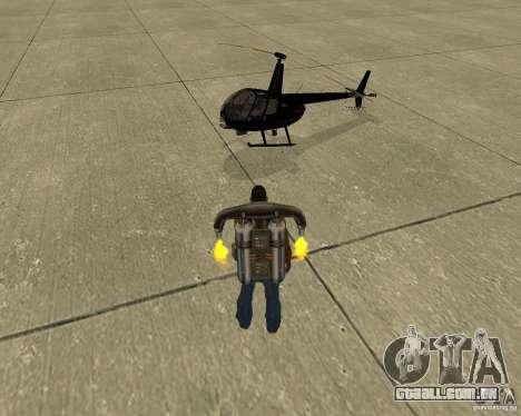 Transporte aéreo de Pak para as rodas de GTA San Andreas
