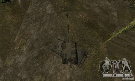 2S19 Msta-s, versão standard para GTA San Andreas vista traseira