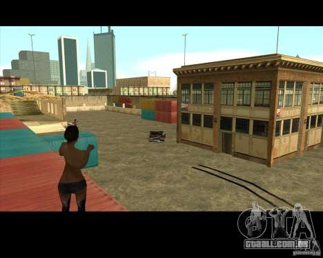 Great Theft Car V1.0 para GTA San Andreas quinto tela