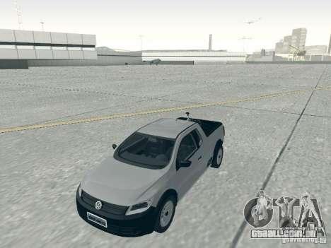 Volkswagen Saveiro 1.6 2009 para GTA San Andreas vista direita