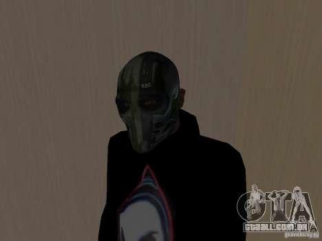 Army of Two Mask Camo para GTA San Andreas segunda tela
