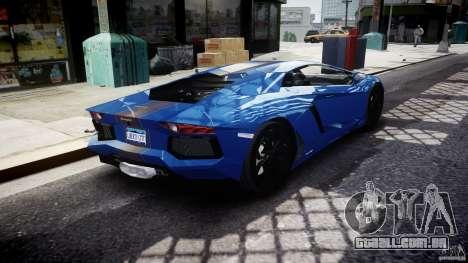 Lamborghini Aventador LP700-4 2011 [EPM] para GTA 4 vista superior