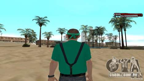 Skin Pack The Rifa Gang HD para GTA San Andreas por diante tela
