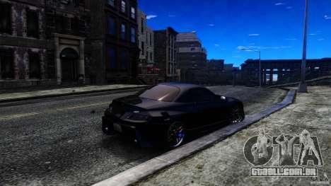 Mitsubishi FTO para GTA 4 traseira esquerda vista