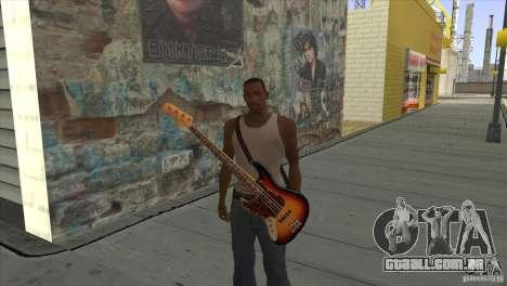 Músicas do filme na guitarra para GTA San Andreas oitavo tela