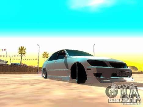 Toyota Altezza HKS para GTA San Andreas