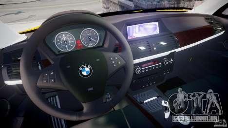 BMW X5 E70 v1.0 para GTA 4 vista de volta