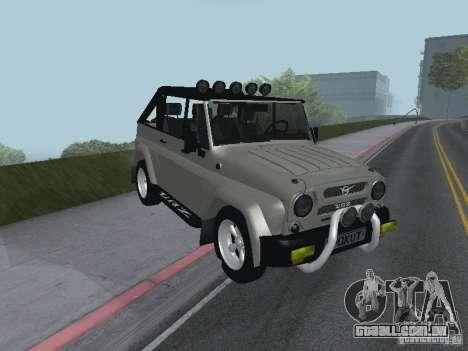 UAZ-3159 para GTA San Andreas esquerda vista