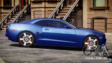 Chevrolet Camaro v1.0 para GTA 4 vista interior