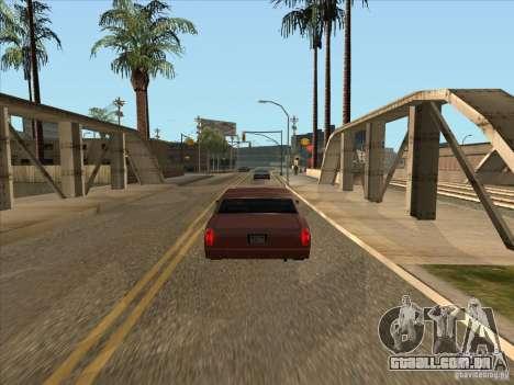 Carro graduado de travagem para GTA San Andreas segunda tela