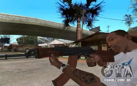 O RPK-74 para GTA San Andreas segunda tela