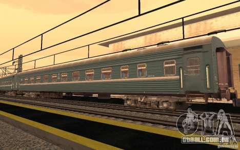 FERROVIÁRIA mod II para GTA San Andreas nono tela