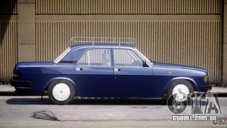 GAZ 3110 Volga para GTA 4 esquerda vista