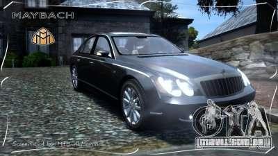 Maybach 57S para GTA 4