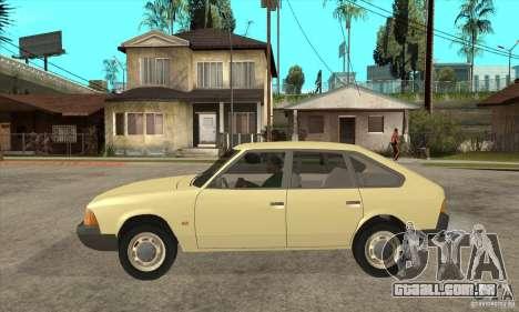 2141 AZLK para GTA San Andreas esquerda vista