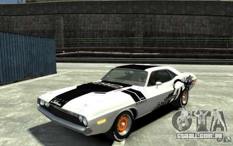 Dodge Challenger R/T Hemi 1970 para GTA 4