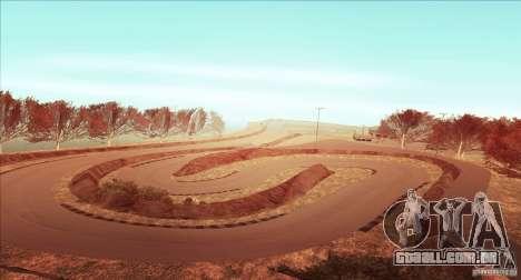 The Ebisu South Circuit para GTA San Andreas quinto tela