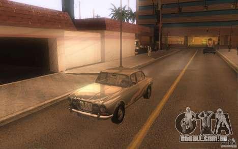 Jaguar XJ6 1972 para GTA San Andreas esquerda vista