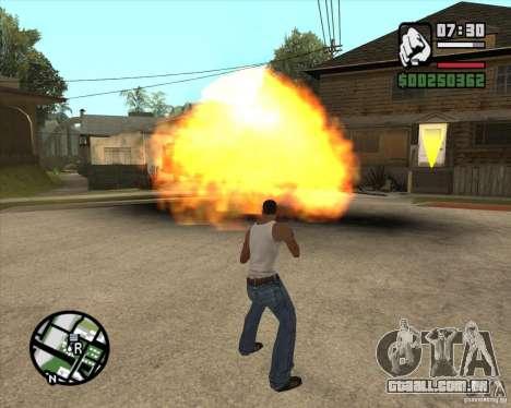 Explosão para GTA San Andreas
