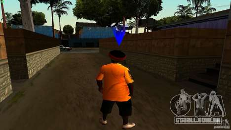 Jamaican Guy para GTA San Andreas por diante tela