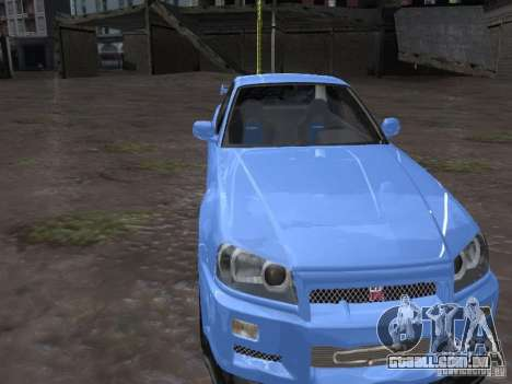 ENBSeries de Rinzler para GTA San Andreas segunda tela