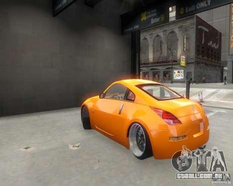 Nissan 350Z para GTA 4 vista direita