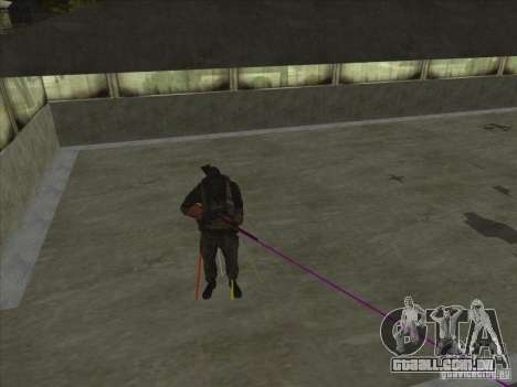 Weapon with laser para GTA San Andreas