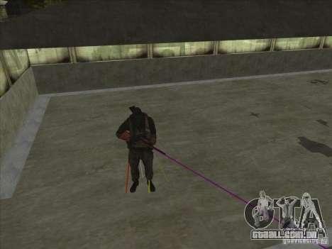 Weapon with laser para GTA San Andreas
