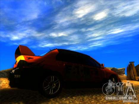 Mitsubishi Lancer Evolution IX MR para GTA San Andreas vista direita