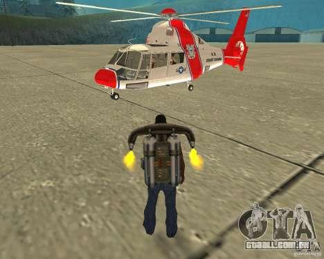 Transporte aéreo de Pak para GTA San Andreas