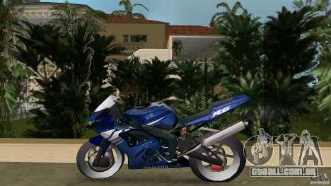 Yamaha YZF R6 2005 para GTA Vice City deixou vista