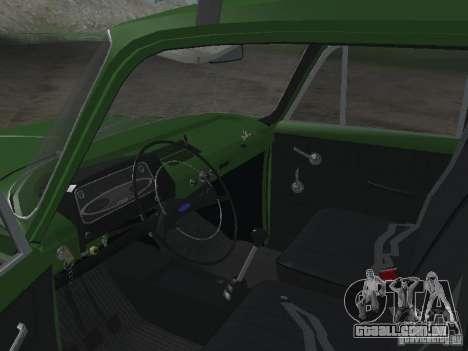 IZH 412 v 3.0 para GTA San Andreas vista traseira