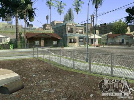 Grove Street Retextured para GTA San Andreas décimo tela
