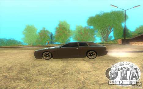 New Elegy Hatch 2011 para GTA San Andreas esquerda vista