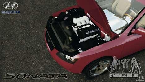Hyundai Sonata v1.0 para GTA 4 vista de volta