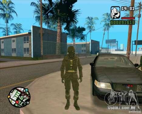 Pele SAS para GTA San Andreas terceira tela