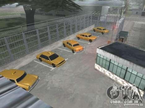 O primeiro táxi Parque versão 1.0 para GTA San Andreas terceira tela