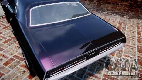 Dodge Challenger 1971 RT para GTA 4 motor