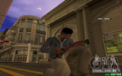 Quebra-gelo (vermelho) para GTA San Andreas terceira tela