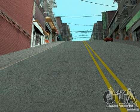 Novas estradas em San Fierro para GTA San Andreas segunda tela