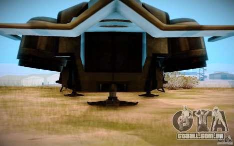 BTR-20 Yastreb para GTA San Andreas traseira esquerda vista