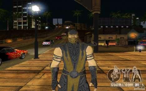 Scorpion v2.2 MK 9 para GTA San Andreas