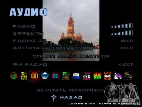 Tela de boot Moscou para GTA San Andreas sétima tela