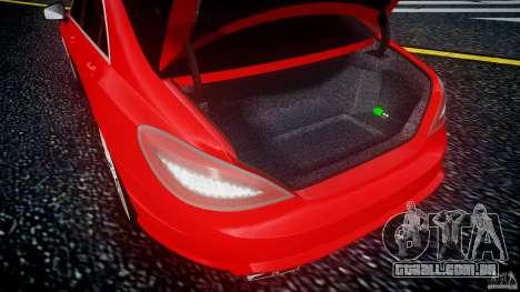 Mercedes-Benz CLS 63 AMG 2012 para GTA 4 vista interior