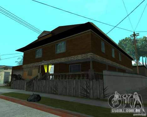 CJâ casa nova para GTA San Andreas terceira tela