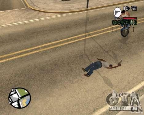 Endorphin Mod v.3 para GTA San Andreas terceira tela