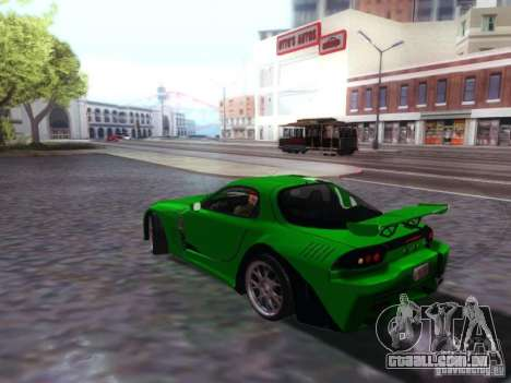 Mazda RX7 para GTA San Andreas esquerda vista