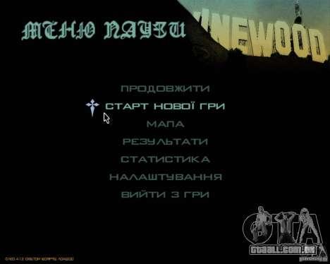 Ukraïnizator 2.0 para GTA San Andreas segunda tela