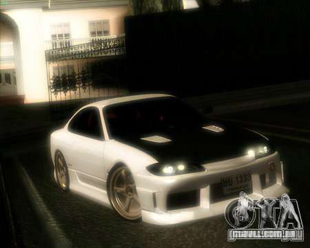 Nissan Silvia para GTA San Andreas vista interior